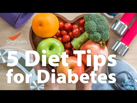 5 Diet Tips For Diabetes Youtube