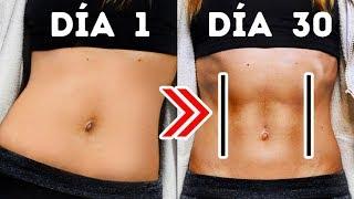 7 Ejercicios fáciles para obtener 11 cuadritos de abdominales en un mes