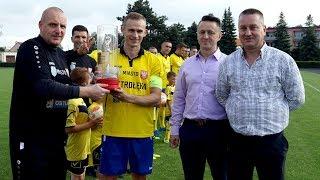 Korona otrzymała puchar za triumf w lidze okręgowej