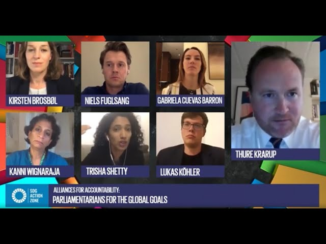 Alliances for Accountability: Parliamentarians for the Global Goals