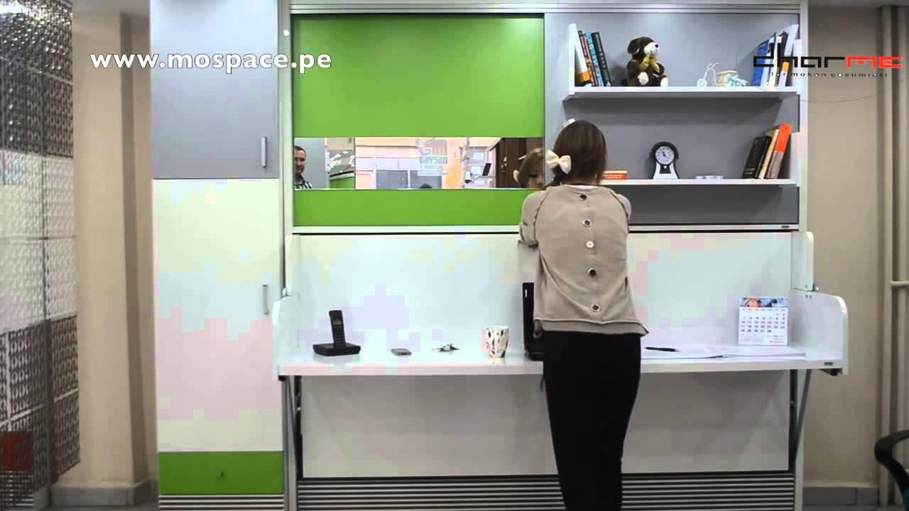 Cama Multifuncional  MOSPACE Per  YouTube
