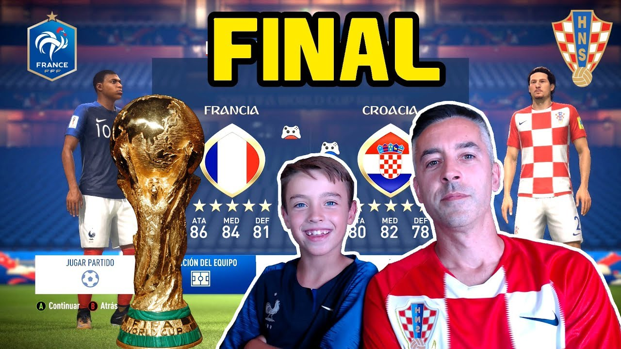 Francia Vs Croacia Final World Cup
