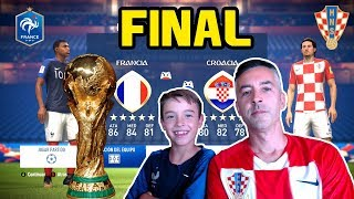 FRANCIA VS CROACIA - FINAL WORLD CUP 2018