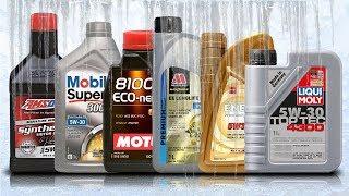 Olej 5W30 A5/B5 Test Zimna -30°C Motul 5W30, Amsoil 5W30, Mobil 5W30, Liqui Moly 5W30