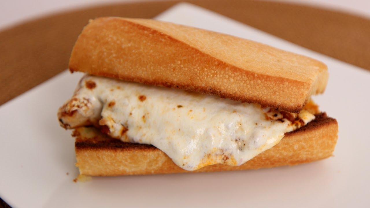 Chicken Parm Sandwich Recipe  Laura Vitale  Laura In The Kitchen Episode  528  Youtube