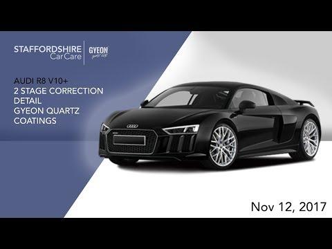 2017 Audi R8 V10 Plus | Detailing | Staffordshire Car Care | Gyeon Quartz