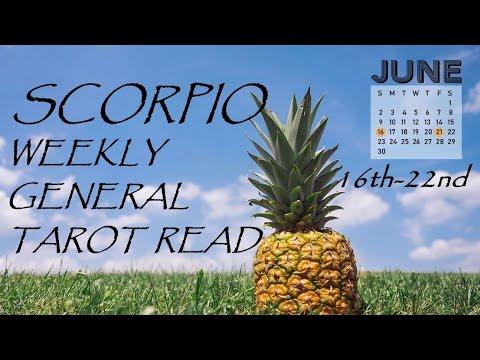 scorpio tarot weekly 16 to 22