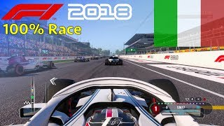 F1 2018 - 100% Race @ Autodromo di Monza, Italy in Leclerc's Sauber