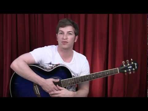 How to Play We are Young guitar lesson