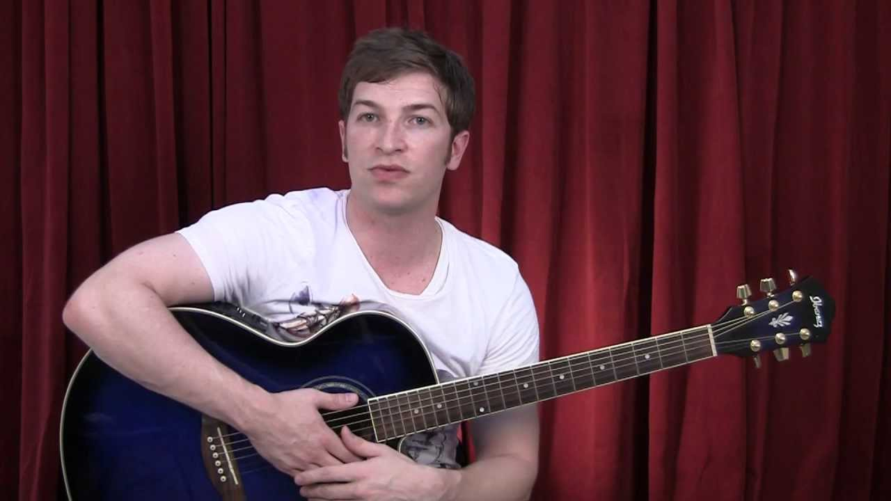 How To Play We Are Young Guitar Lesson Youtube