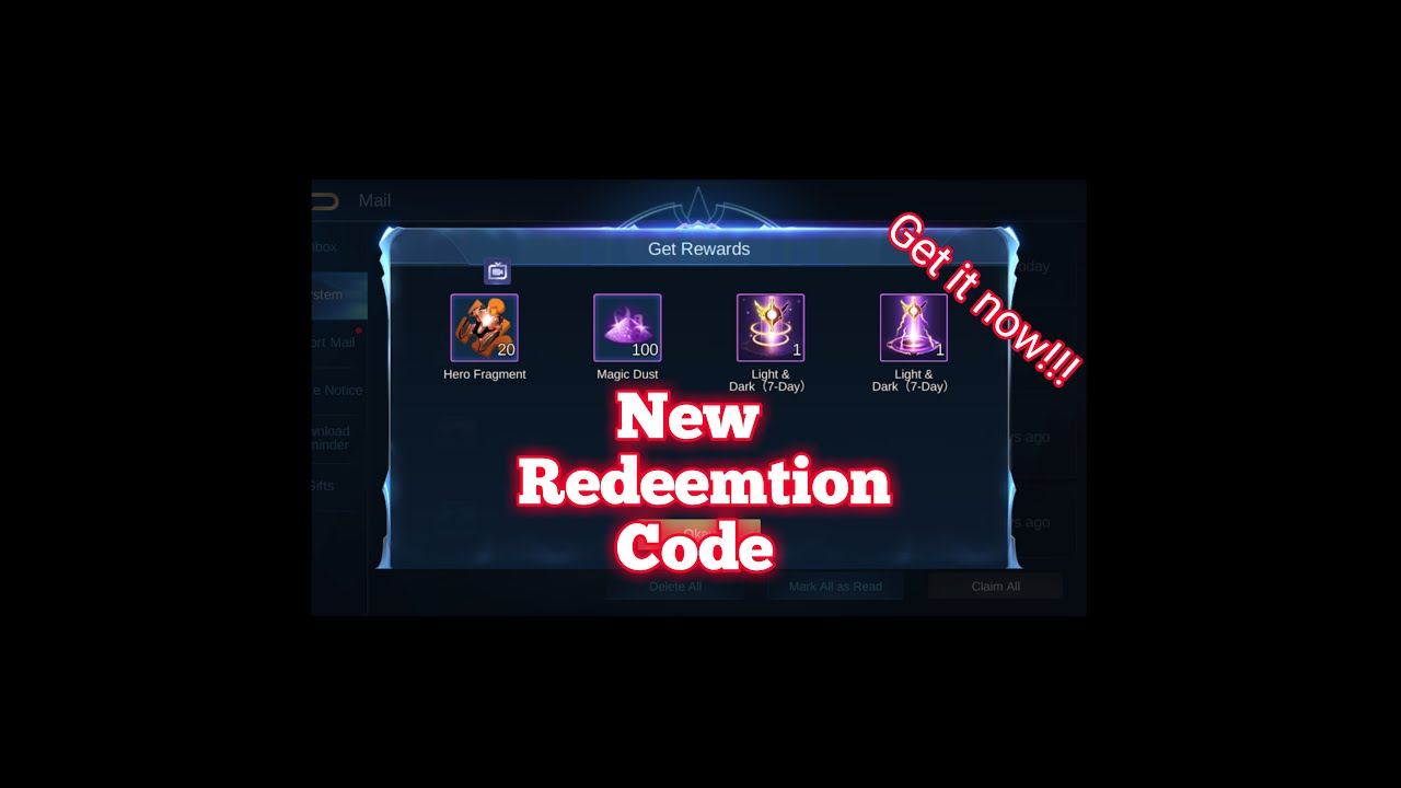 Redeem Code for ML - Part 2 - YouTube