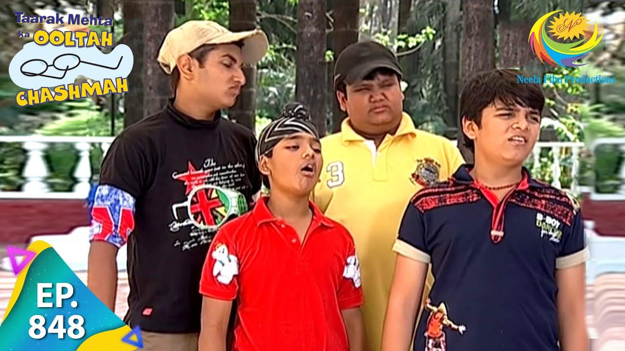 Download Taarak Mehta Ka Ooltah Chashmah - Episode 848 - Full Episode