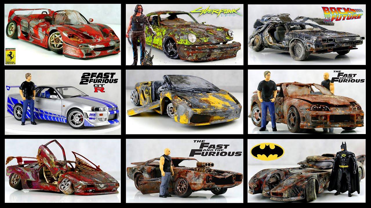Best Restoration 2020 Lamborghini, Ferrari, Porsche and other Abandoned model cars