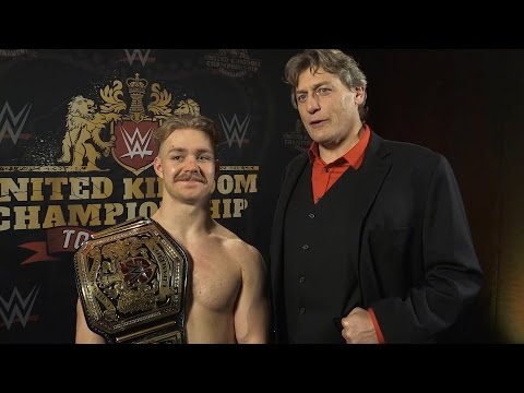 Interview With New WWE UK Champion Tyler Bate & William Regal
