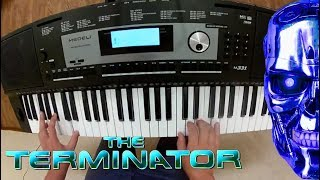 Музыка из фильма Терминатор на синтезаторе MEDELI M331.