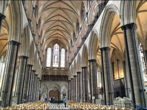 Inside Salisbury Cathedral