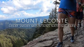 Hiking Mt LeConte via Alum Cave in September 2019