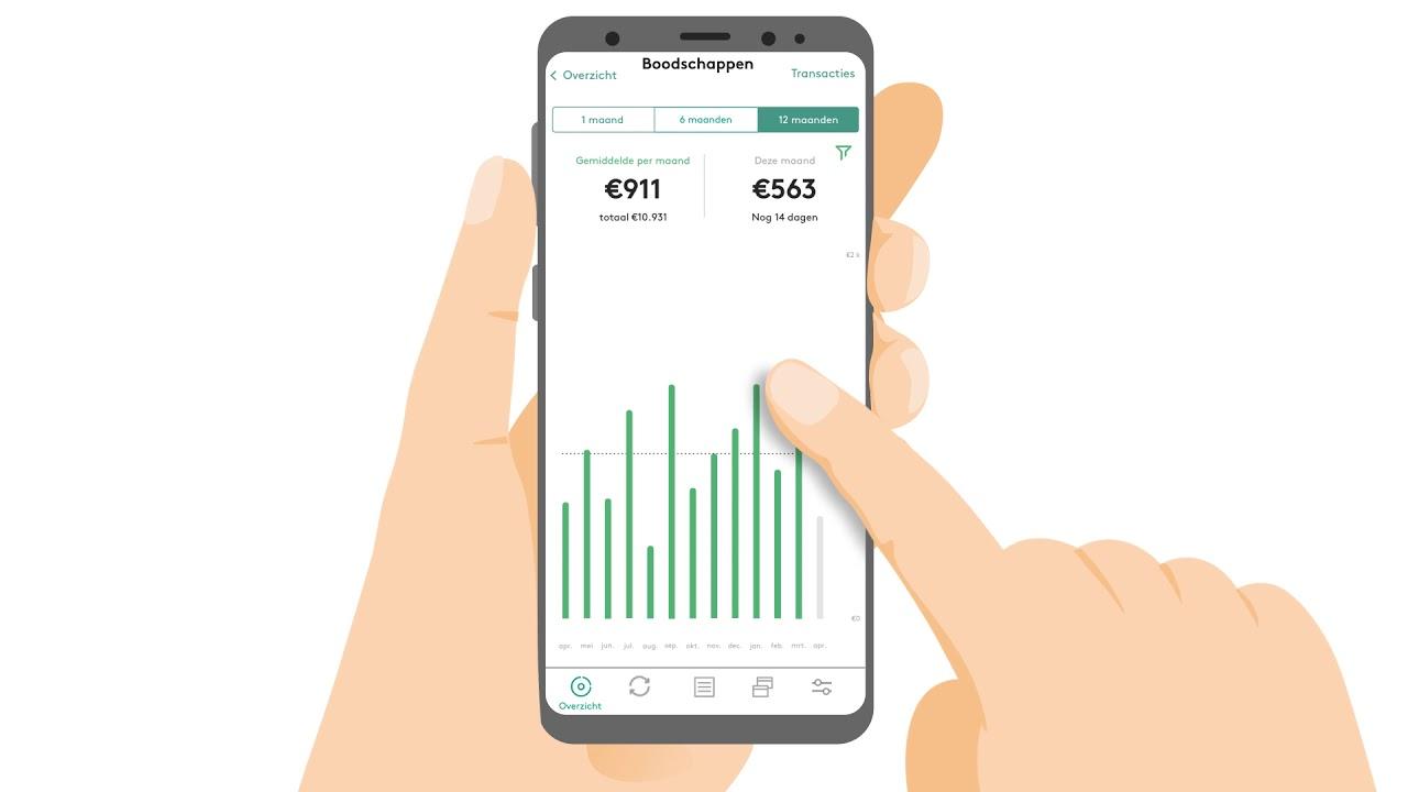 GRIP app - uitleg uitgaven en categorieën