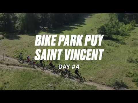 Apprendre à piloter en VTT DH au bikepark de Puy Saint Vincent