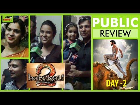Baahubali 2 The Conclusion Public Talk | Bahubali 2 Movie Public Review | Prabhas | Rana Daggubatti