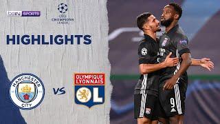 Manchester City 1-3 Lyon | Champions League 19/20 Match Highlights