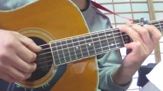 97-3961 愛のうた ストロベリーフラワー カバー ギター弾語り 簡単アレ...