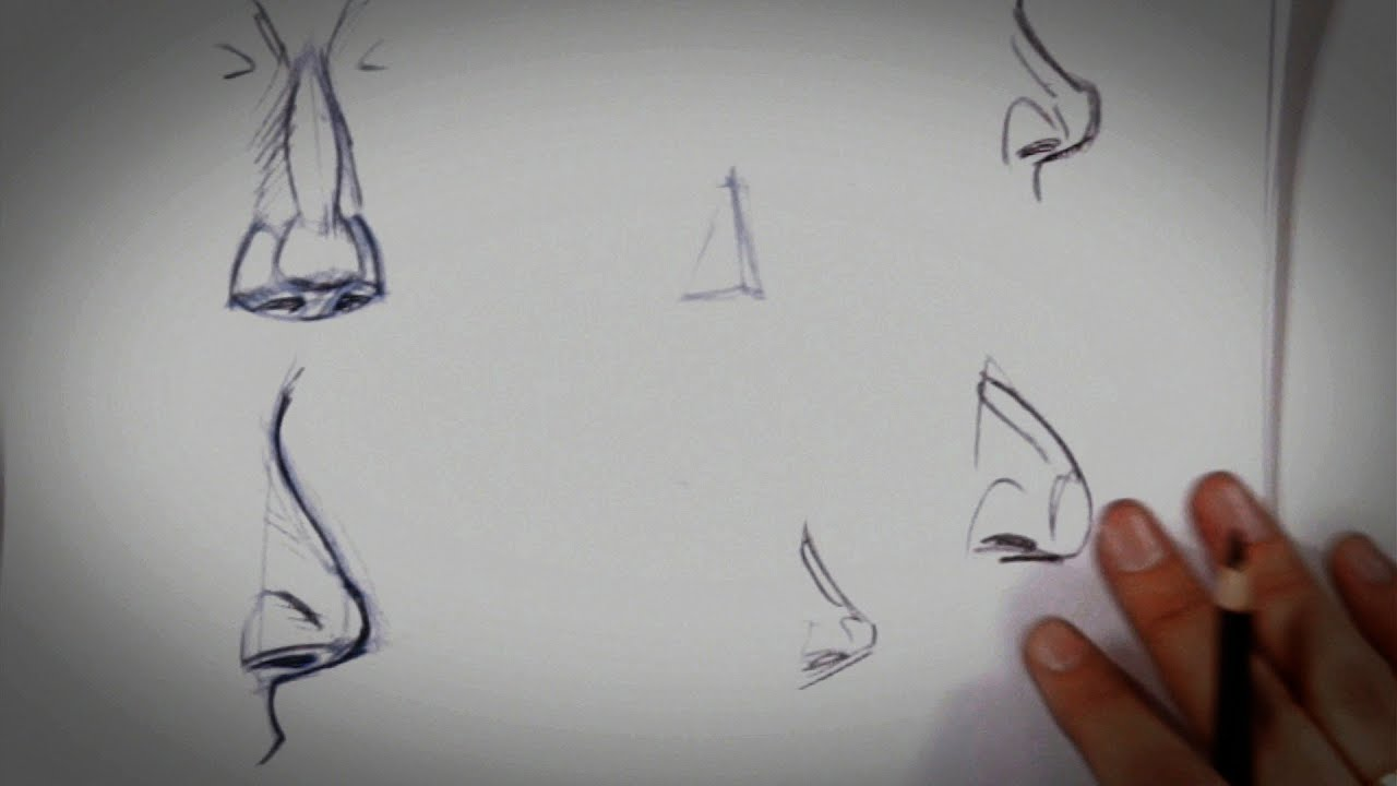 How To Draw A Nose  Drawing Tips