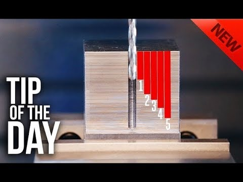 Don't Waste Cycle Time; Peck Drilling Essentials  Haas Automation Tip of the Day