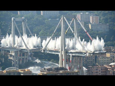 Dangerous Explosive Demolition Collapses Epic Destruction of Various Engineering Structures
