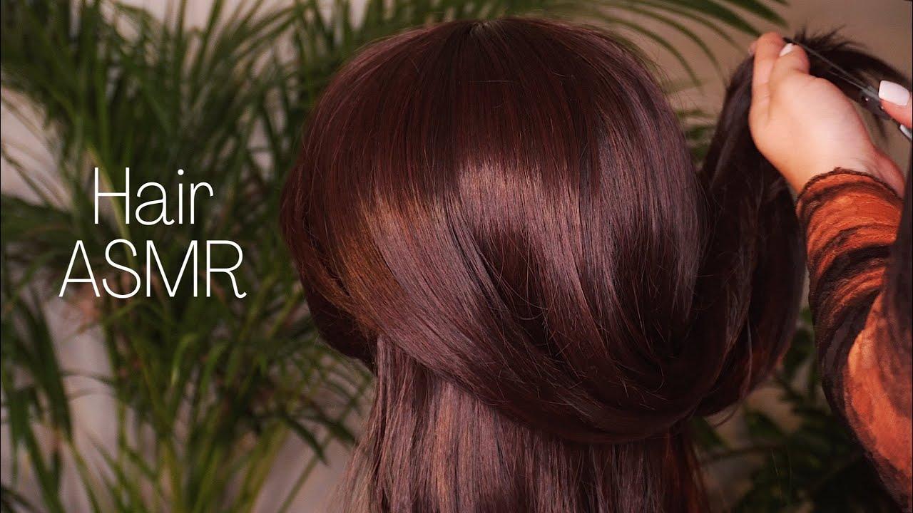 ASMR Hair Play 💇🏽♀️ | Sanftes Schneiden, Massieren & Bürsten | Dori ASMR