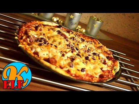 #170 spicy Bifi Pizza Mexico Style schnell und einfach zubereitet | Kanal-ELF Rezepte