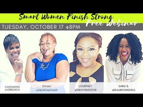 Smart Women Finish Strong Virtual Workshop REPLAY 10.27.17