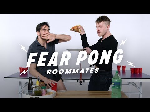Roommates Play Fear Pong (Steven vs. Scotty) | Fear Pong | Cut
