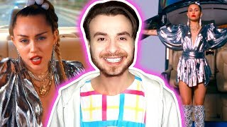 Miley Cyrus, Mark Ronson - Nothing Breaks Like a Heart [REACTION] Video