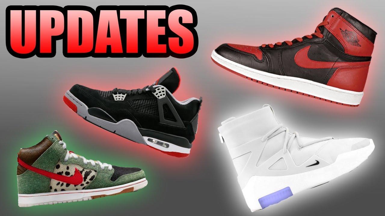 cbe591cfd997 Jordan 1 Bred Release Date | White Air FOG 1 | Cactus Jack Air Force 1 |  Sneaker Updates 32