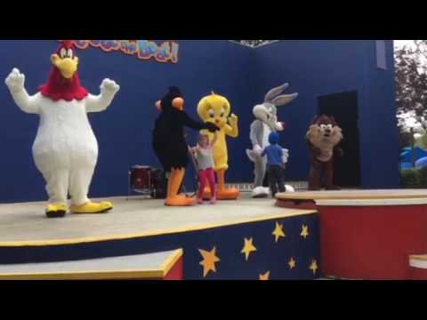 Scarlett Dancing With The Looney Toons!