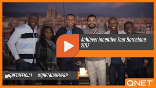 QNET Football |  Achiever Incentive Tour Barcelona 2017 [Aftermovie]