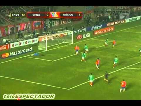 MEXICO vs CHILE -- Copa America Argentina 2011 -- Julio 04, 2011