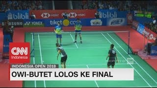 Owi-Butet, Kevin- Marcus Lolos ke Final Indonesia Open 2018