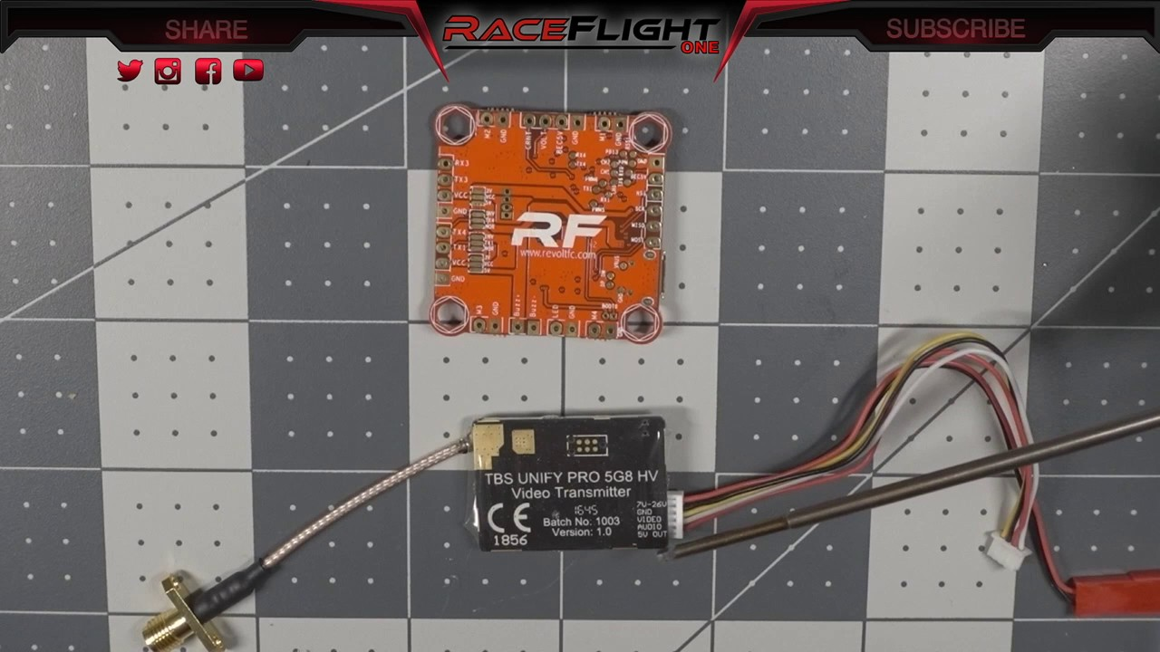 Connecting Tbs Unify Vtx To Raceflight Revolt Youtube Wiring Diagram