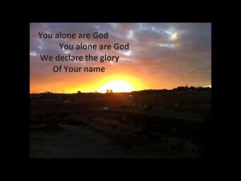 You Alone Are GOD Lyrics