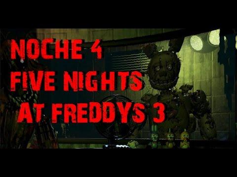 Truco para pasar Noche 4 en Five Nights At Freddy´s 3