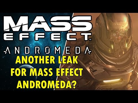 Mass Effect Andromeda - Another Mass Effect Andromeda Leak?
