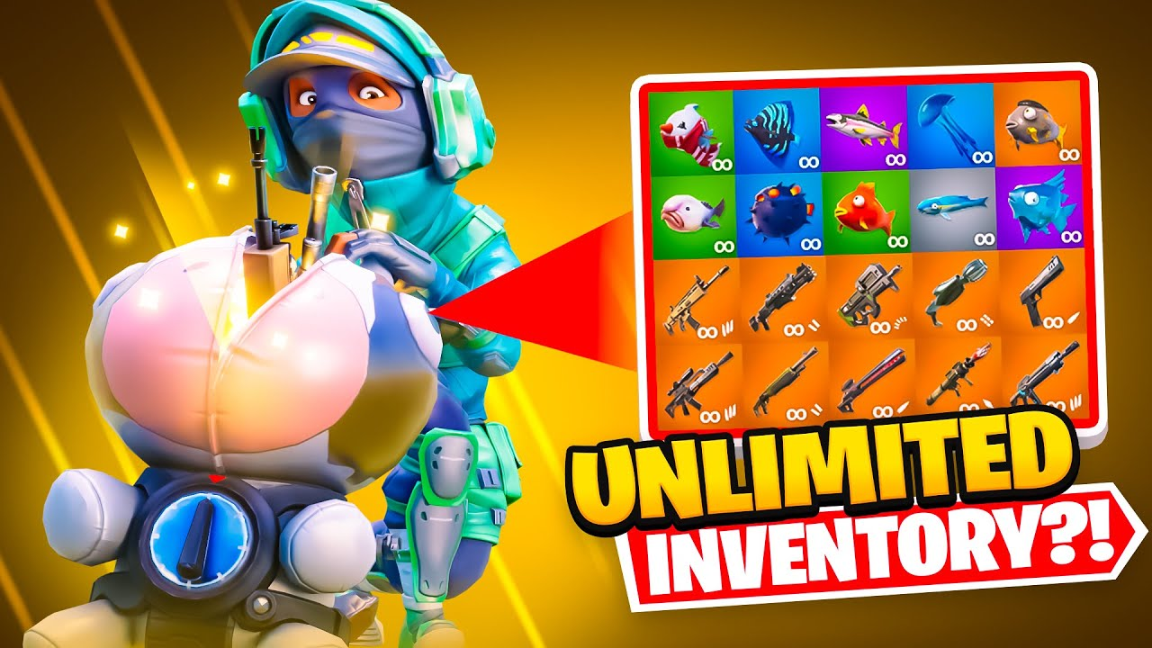 THE UNLIMITED INVENTORY BACKPACK!