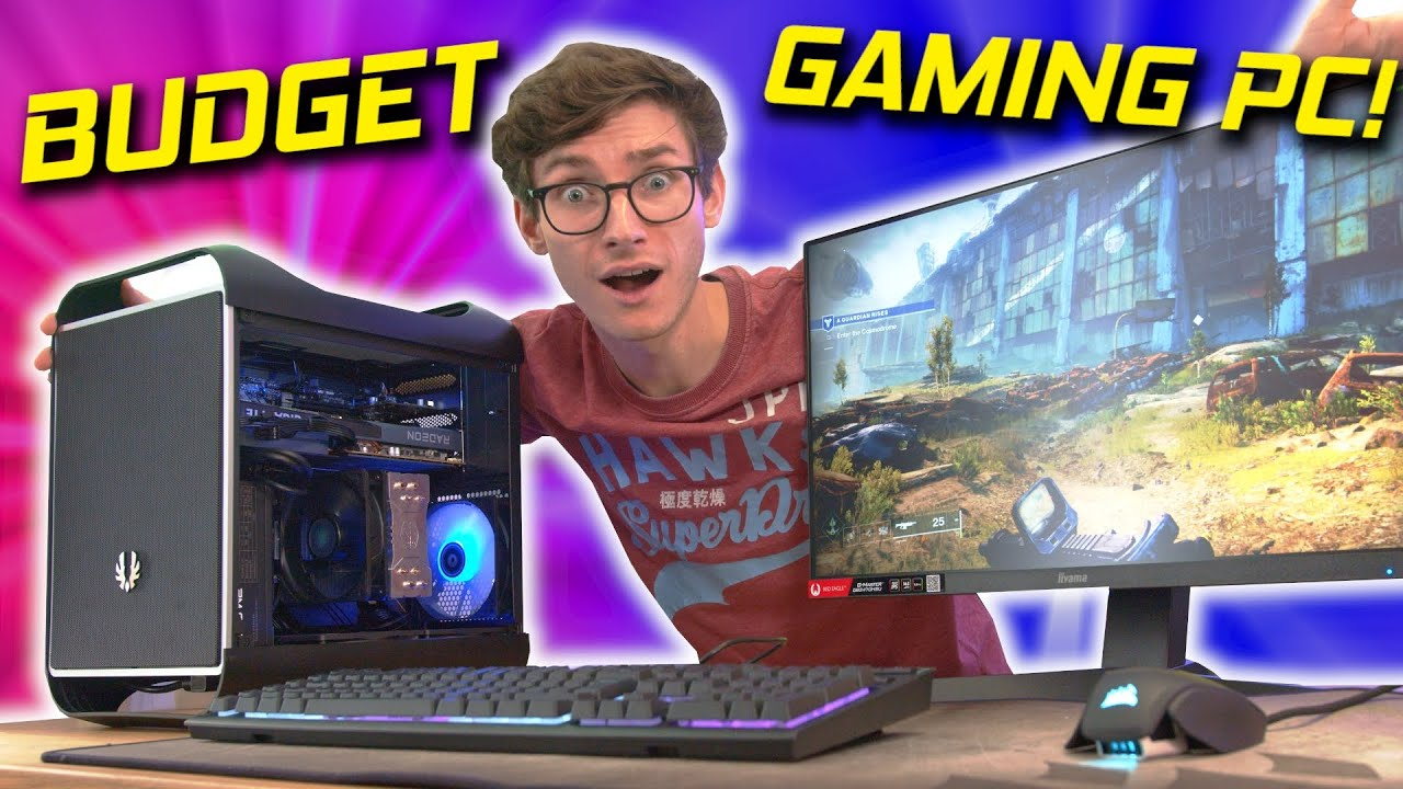 The BUDGET Gaming PC Build Guide 2021!  🙌 RX 6600, I5 11400F w/ Gameplay Benchmarks