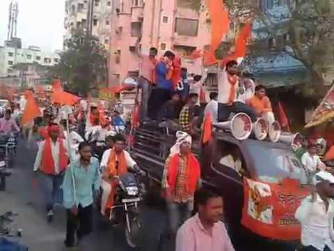 Hindu New Year Rally at Jamshedpur 2017.