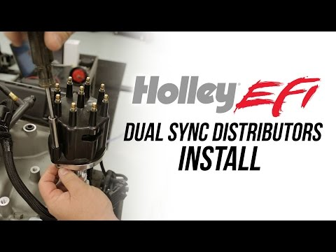 Holley EFI Dual Sync Distributor Install - YouTube on