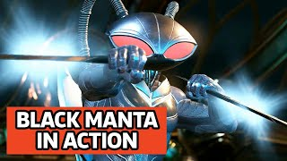Injustice 2 - Black Manta Gameplay Trailer