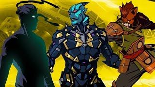 ТИТАН БЛИЗОК игровой мультик Shadow Fight 2 бой с тенью от КИДА