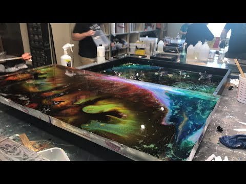 Casting Resin and  Fluid Painting - Resin Art Workshop
